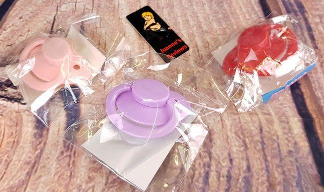 Image showing three pacifiers in their packaging