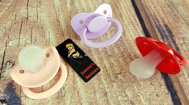 Image showing the three pacifiers