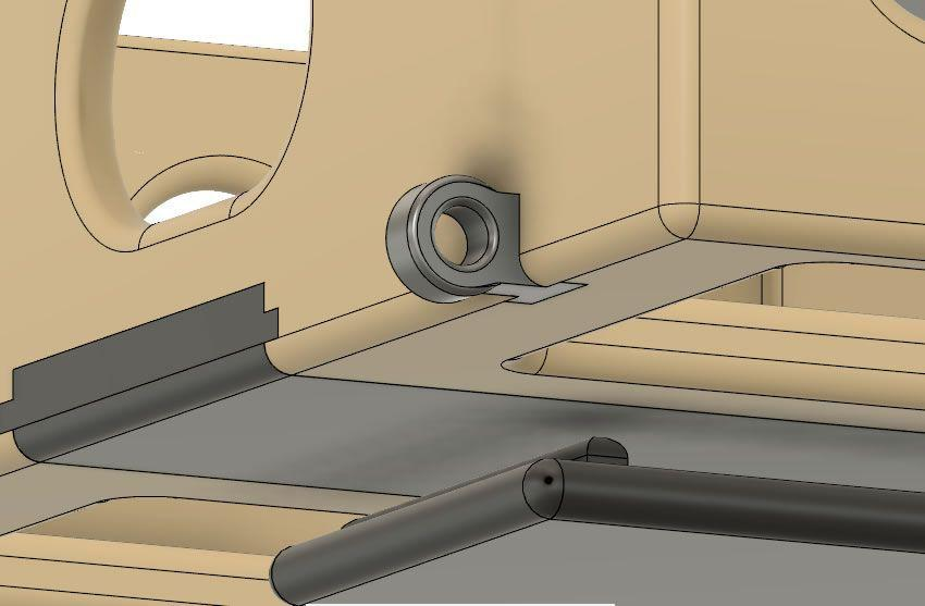 Yeni kablo bağı halkasının oluşturulmasını gösteren resim