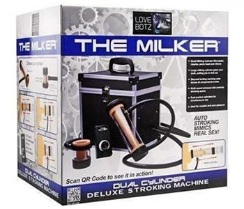 Image showing The Milker Dual Cylinder Deluxe Stroking Machine
