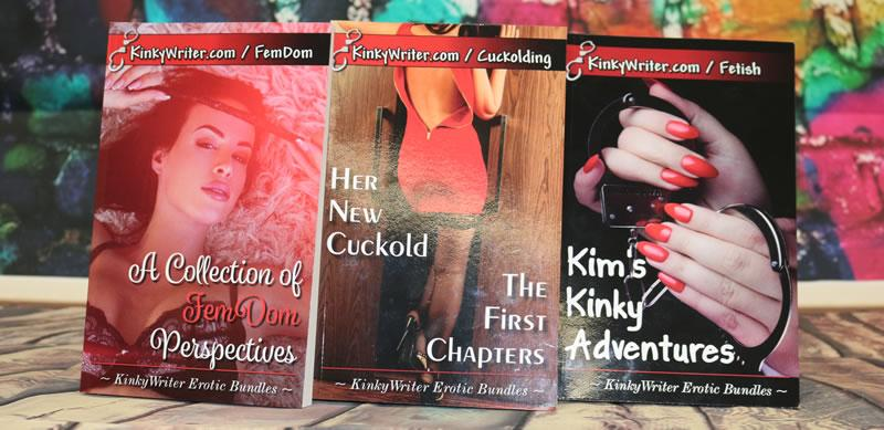 Image showing the covers of all three books