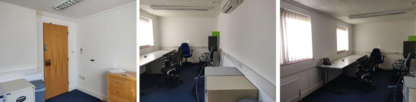 Image showing thr office space that I am moving in to