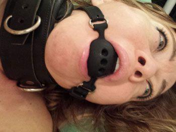 Image showing a ball gag