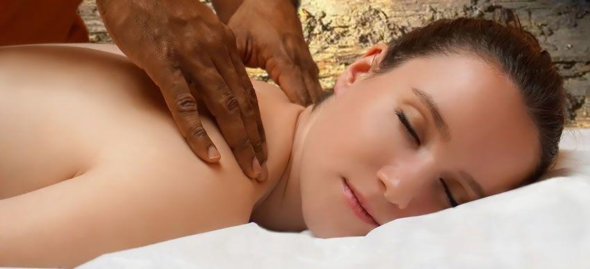 Image showing a sensual massage