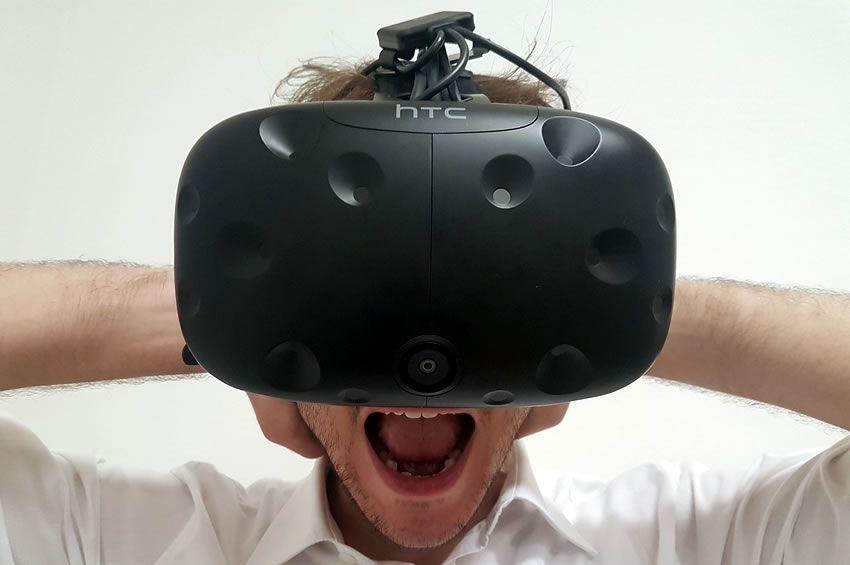 Bazı VR Pron zevk bir adam gösteren resim