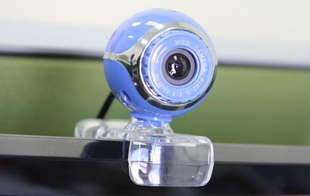 Изображение, показывающее веб-камеру на ноутбуке