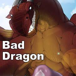 Bad Dragon faire silicone fantaisie sex toys