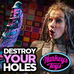 MrHankeysToys.com, největší a nejlepší silikonová dilda