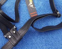 The Aslan Harness uses high quality fittings