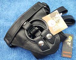 Az Aslan Harness luxus puha bőrből készül
