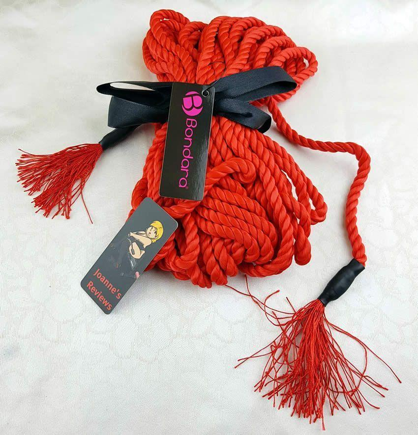 This rope is stunning andf very tactile