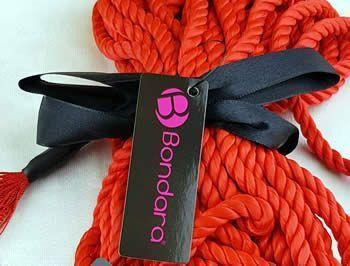This is a rope with a colour that really pops