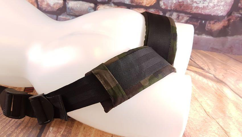 Image showing the padding on the Colt Camo Thigh Sling thigh loops