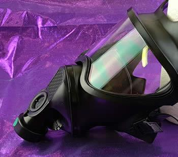 This gas mask is actually a nice looking piece of kit