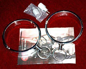 Dessa shacklar är av hög kvalitet och de levereras med verktyg för att låsa upp dem