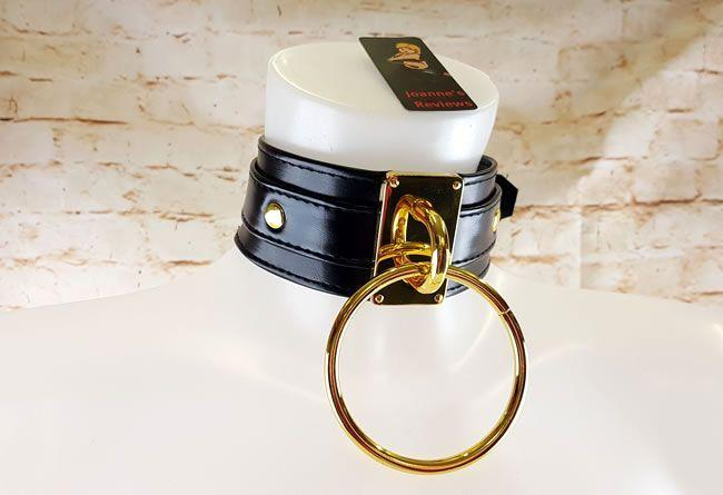 The Lady MEO - Ring of O BDSM Collar يصدر بيانًا قويًا