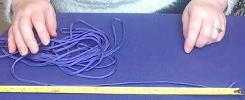 Začněte měřením délky parodordu