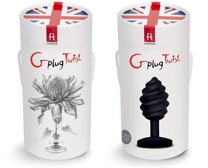 The packaging of the Gplug Twist is divine and I love the orchid motiff and Union Flag