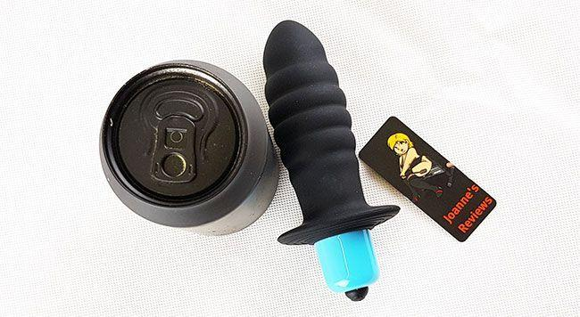 The Vortex is a nice sized butt plug that is pretty easy to insert