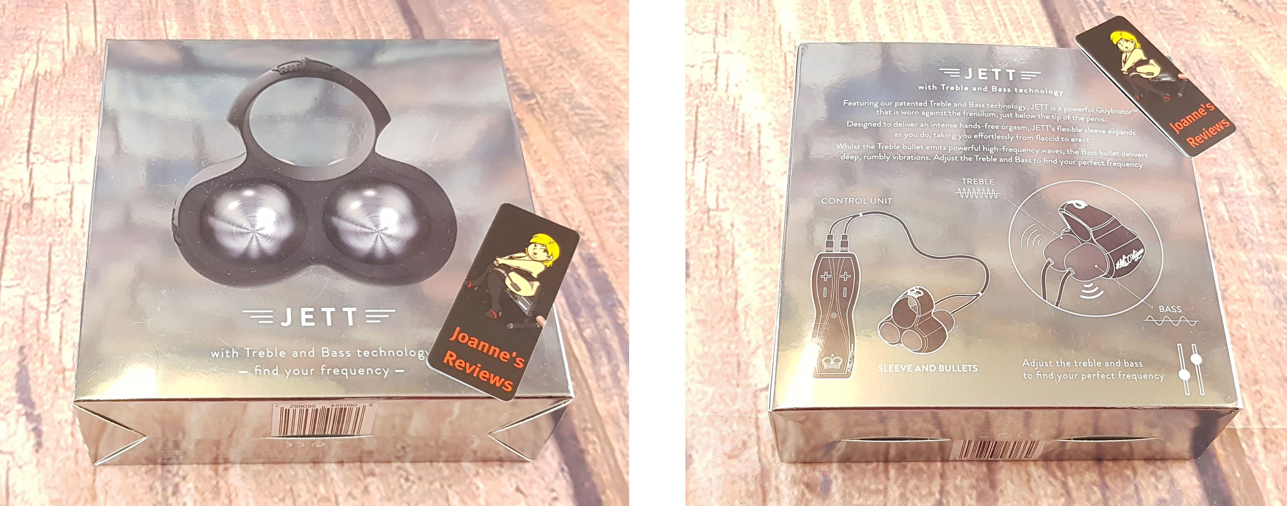 Image showing the stunning packaging of the Hot Octopuss JETT Guybrator