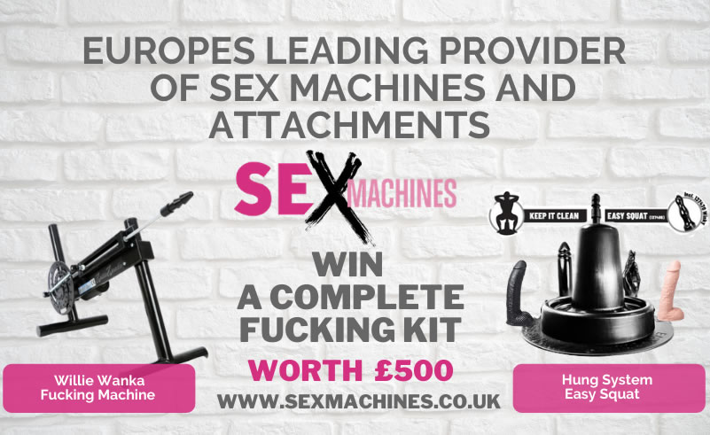 Win a complete fucking machine kit worth over £500