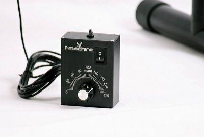 The speed can range from 0 to 240 RPM