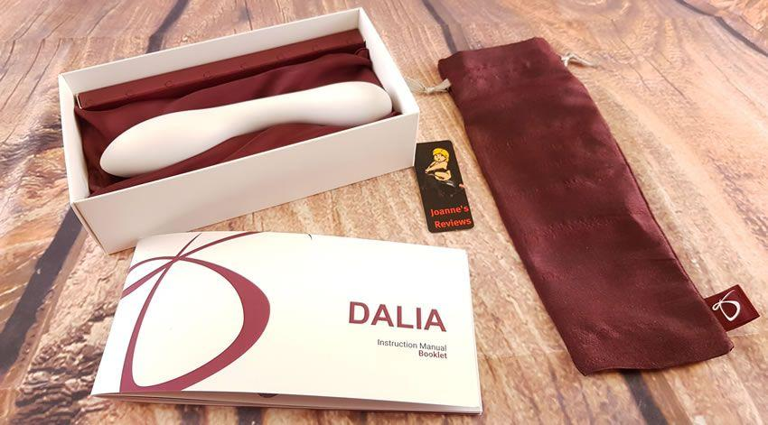 Image showing the Dalia in its packaging box