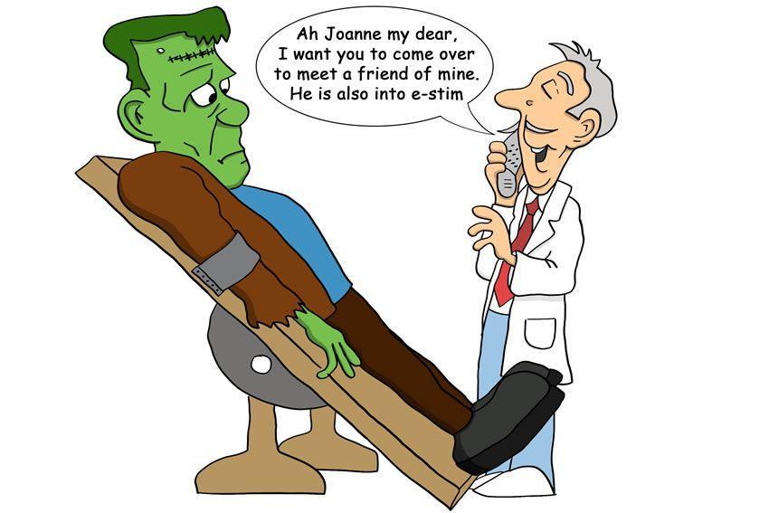 Joanne dostaje nietypowy telefon od doktora Frankensteina