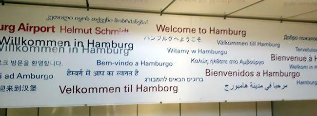 Welcome to Hamburg