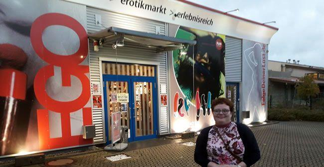 Welcome to a German sex shop