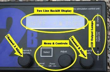 The 2B has an easy to understand interface