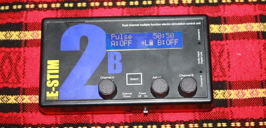 The 2B is one hell of a good e-stim control box