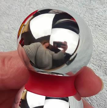 Bobble e-stim elektroden er utrolig glat og dens form er sublim