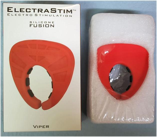 Εικόνα που δείχνει την επωνυμία του κουτιού του Viper και τη συσκευασία στο εσωτερικό