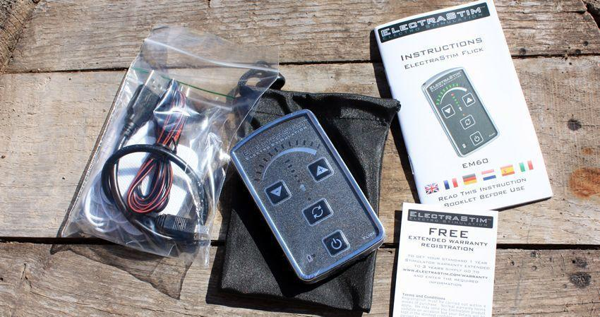 The EM60-E is an ideal entry level e-stim kit