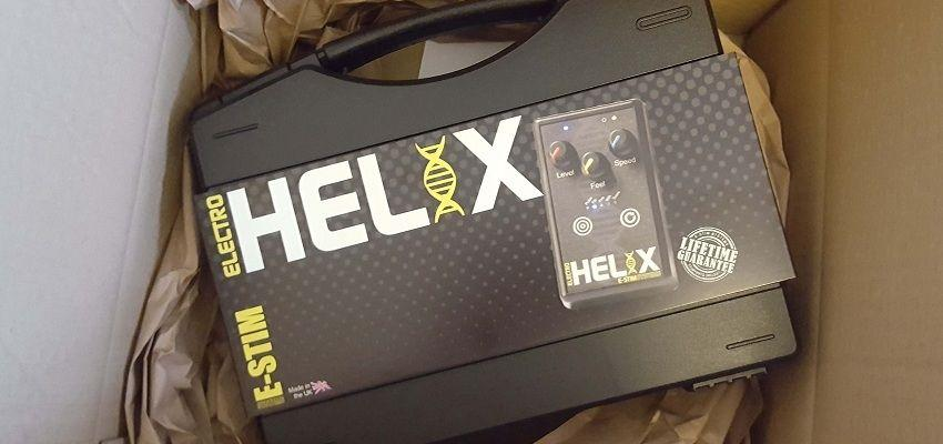 The ElectroHelix arrives in very nice packaging