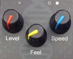 Kontrolelementerne er enkle og intuitive