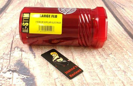 Image showing the translucent packaging of the Large Flo