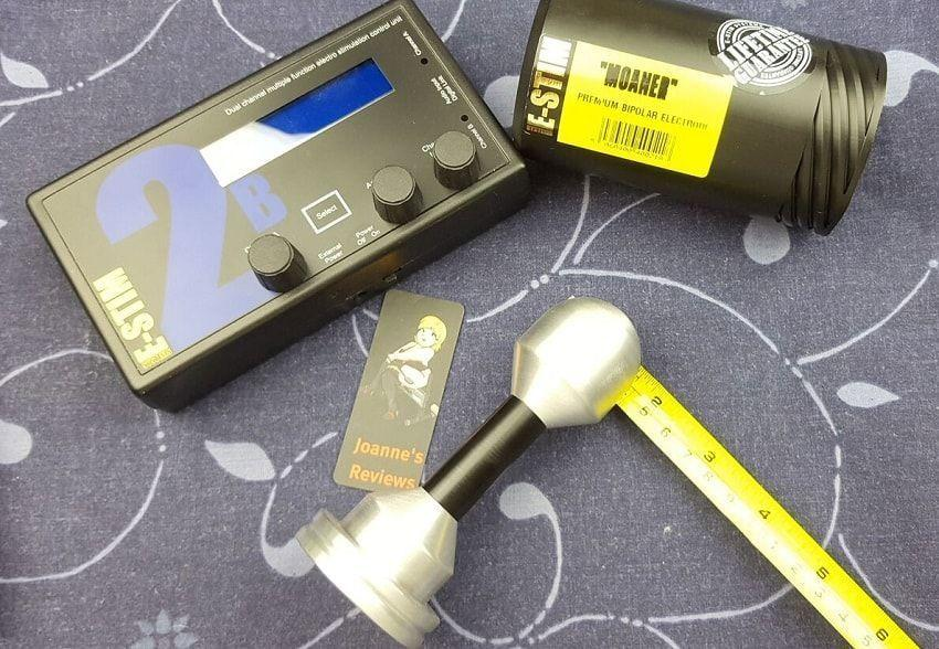 Moaner er en svært dyktig bi-polar e-stim elektrode