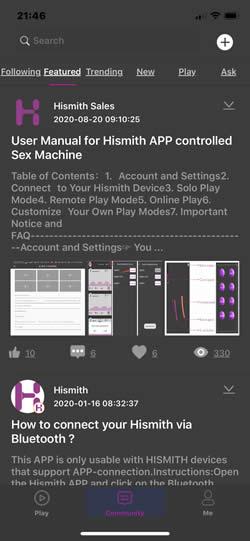Imagen que muestra algunos de los artículos de ayuda disponibles desde la aplicación