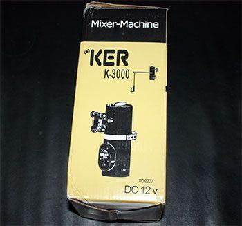 En mixer maskine, mere som en spanking maskine jeg tror