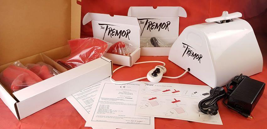 The Tremor is a fantastic sex machine
