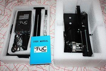 Der uFuc Pro kommt gut verpackt an