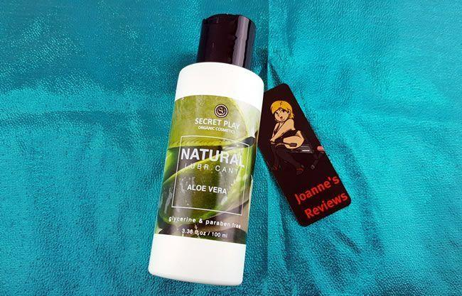 The Secret Play Natural lube comes in a 100ml recycled bottle too