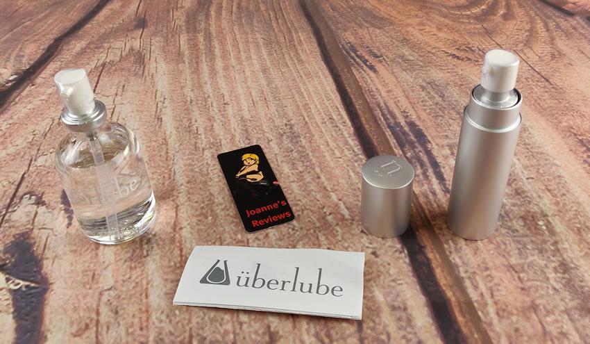 Obrázek znázorňující vrcholy čerpadla na lahvích Uberlube