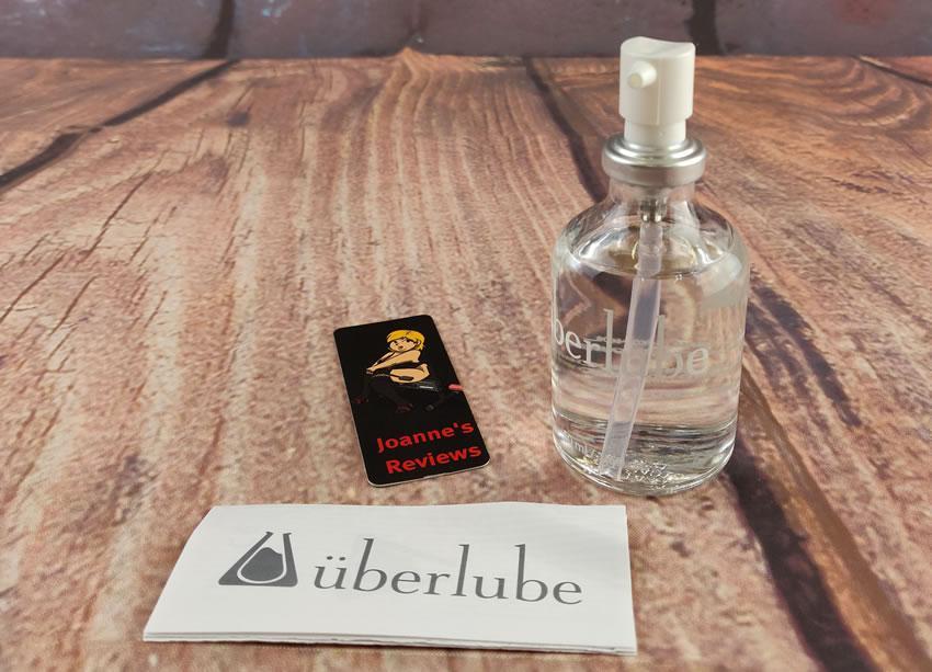 Billede der viser Uberlube 50ml-flasken