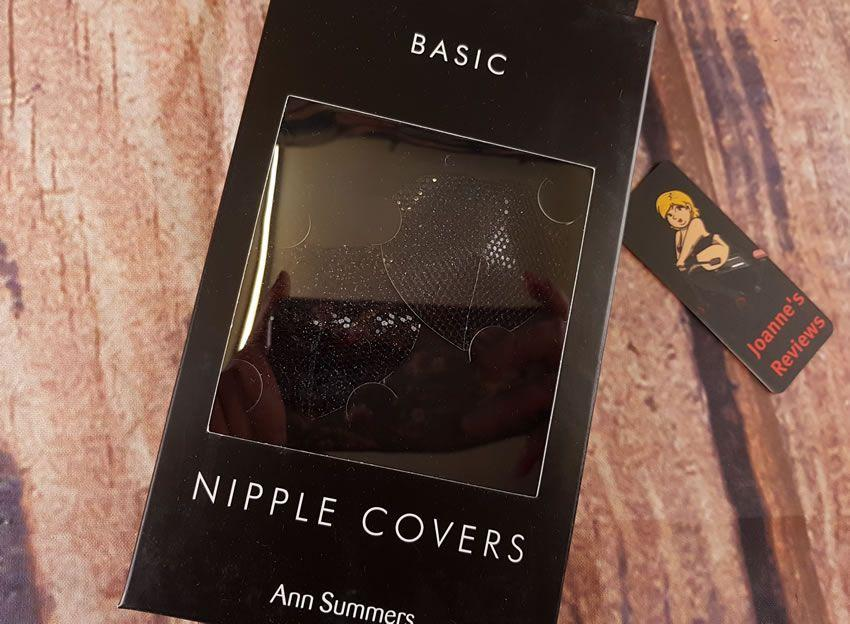 图片展示了Ann Summers Nipple Covers的包装