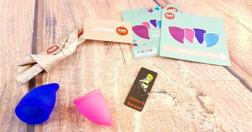 In the Explore Kit you get two different sized menstrual cups and one bag