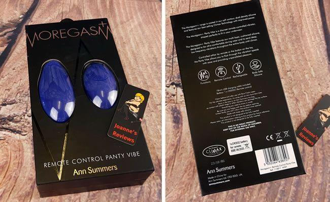 Image showing the packaging of this vibrator