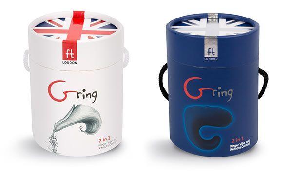 Image montrant le délicieux emballage du Gring
